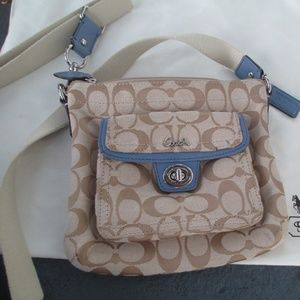 Coach cross body bag low price read